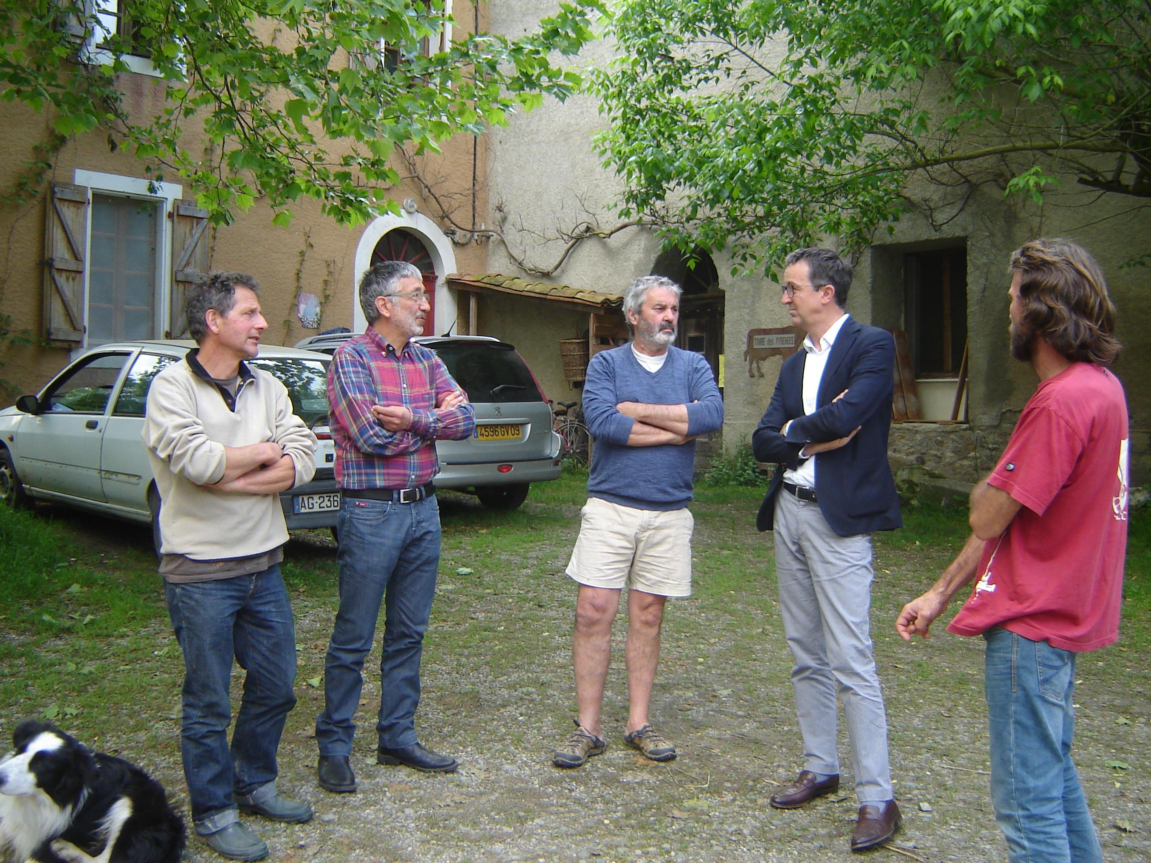Projet de loi foncière : rencontre dans les Pyrénées avec deux députés