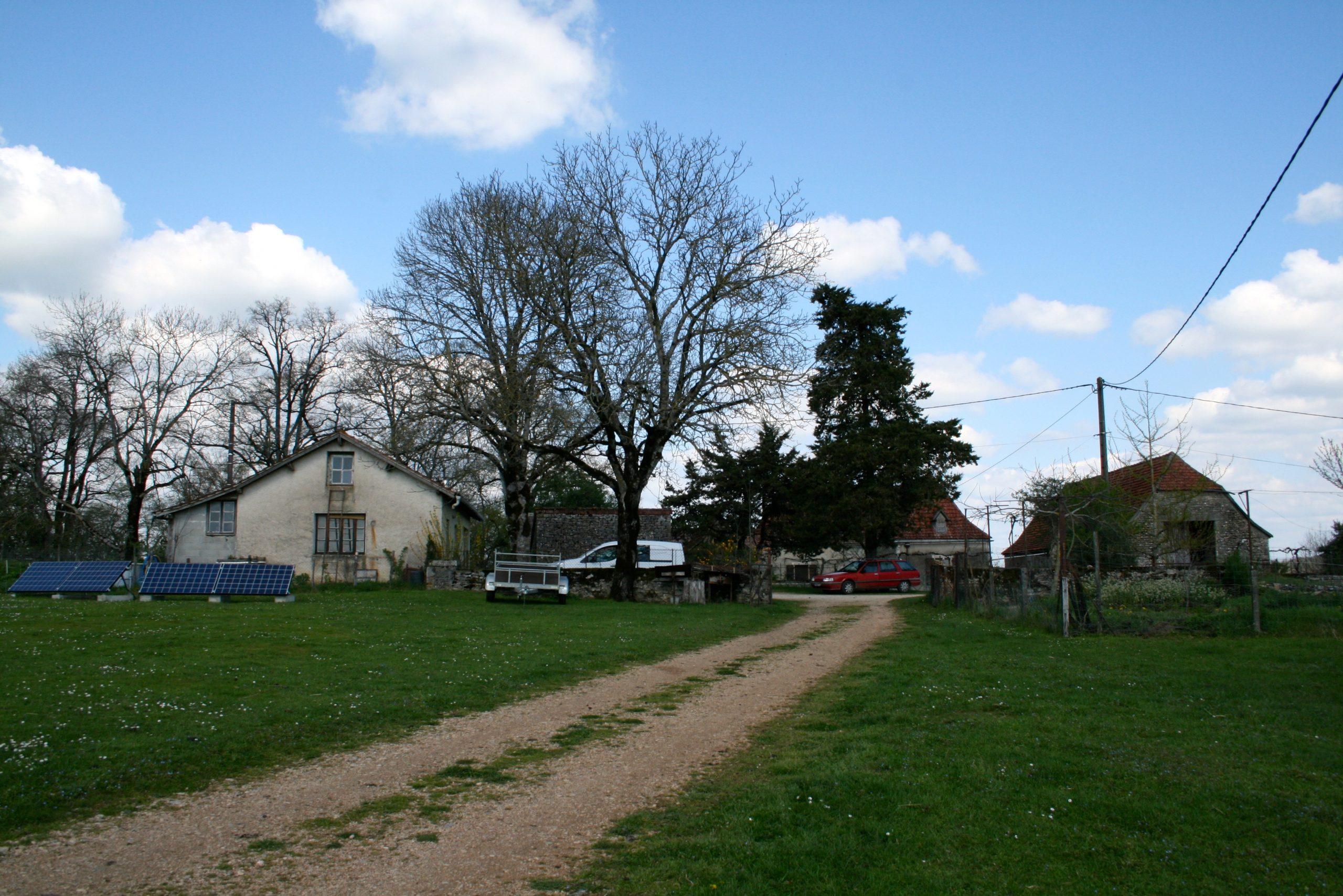 Maison d'habitation et moulin