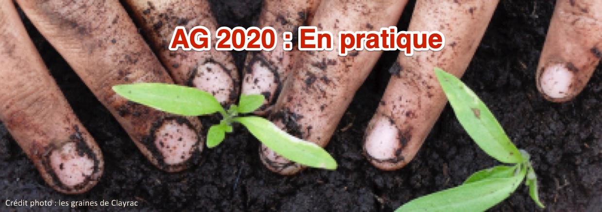 Assemblée générale 2020 : Organisation pratique